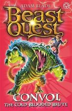 Beast Quest: Convol : The Cold-Blooded Brute by Adam Blade (2015, Paperback)