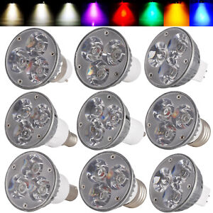 E27/E14/B22/B15/GU10/GU5.3/MR16 Dimmable 6W LED Spot Light Bulbs Epistar Lamp RL