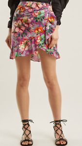 Isabel Marant floral short skirt, in size 38, Aus 8-10, NWT