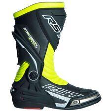 RST 2101 Tractech III Race Flo Yellow Motorcycle Boots