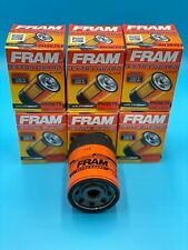 NEW LOT OF 6 Oil Filter PH3675 FRAM Engine -Extra Guard Fits-Isuzu, Buick