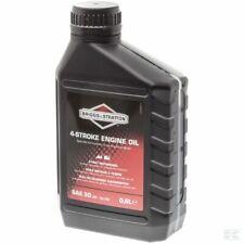 Genuine Briggs & Stratton 0.6L 4 Stroke SAE30 Engine Oil 100005 E Lawnmower