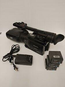 Panasonic  AVCCAM 3D professional digital camcorder