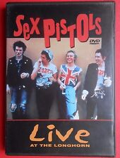 dvd sex pistols live at the longhorn sid vicious god save the queen punk rock gq