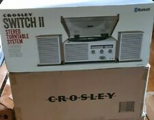 New 1950's style Crosley Switch 2 II Turntable with Speakers