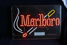 Marlboro Neon Sign Works! Everbrite Man Cave Decor! Cigarettes
