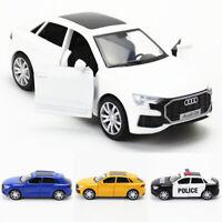 1:36 2019 Audi Q8 SUV Die Cast Modellauto Spielzeug Model Sammlung Pull Back