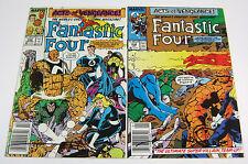Fantastic Four #335 & #336 Both Signed by Walt Simonson! MARVEL COMICS 1989