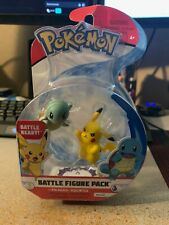 Pokemon Pikachu & Squirtle Battle Figure Pack New