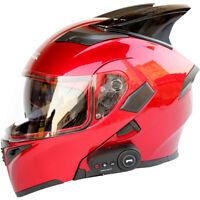 Motorcycle Bluetooth Helmet Modular Road Racing Helmets Good Sound Long Battery