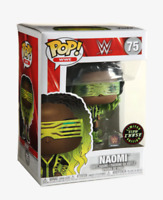 FUNKO POP! WWE NAOMI CHASE GLOW POP FIGURE In Stock!