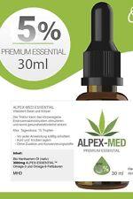 30ml BIO Öl Tropfen 5% oil Vegan Hanf Öl 1500mg EXTRAKTc