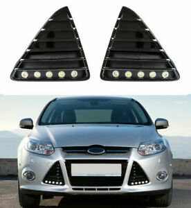 Flex-Design LED Tagfahrlicht mit R87 Modul Ford Focus MK3 mit Zulassung + Gitter