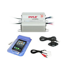 Bluetooth Marine Amplifier Kit, 2-Ch. Waterproof Audio Power Amp System