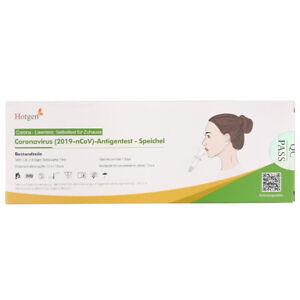 10x Hotgen Corona Schnelltest Antigen Laientest Spucktest in 1er Verpackung