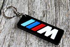 BMW M POWER Motorsport schwarz Keyring M1 M3 M4 M5 M6 Schlüsselanhänger