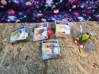 McDonalds Happy Meals Food Fundamentals Lot Under 3 Dunkan Otis Ruby Milly Toys