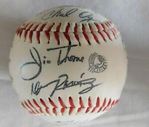 1997 Cleveland Indians Facsimile signed Baseball