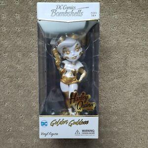 Cryptozoic DC Bombshells Golden Goddess Harley Quinn #250/250