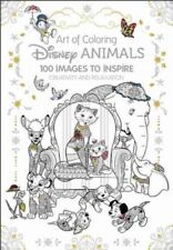 Disney Animals Adult Coloring Book : 100 Images to Inspire Creativity and Rel...