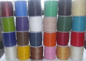 Rind - Lederband 1 / 1,5/ 2 /2,5 /3 mm, in 24 Farben 5 und 10 Meter Lederbänder