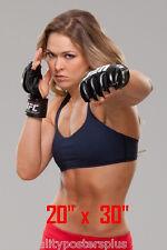"Ronda Rousey~UFC Champ~Poster~20"" x  30"" Photo"