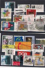 Briefmarken Bund gestempelt  LOT 123