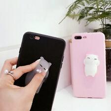 Etui Housse Coque Squishy 3D Chat Silicone Case Pr iphone X 5s 6 6Splus 7 7plus