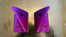 Onewheel Flight Wings Fins Foot Holders 3D Printed Purple For XR And Pint