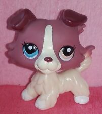 authentic LPS dog 1262 COLLEY COLLIE littlest petshop chien DOGS hasbro