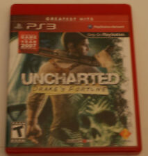 UNCHARTED DRAKES FORTUNE PS3 PLAYSTATION 3 Free shipping
