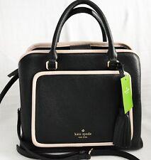 Kate Spade Evangelie Ward Place Leather Satchel Crossbody Bag WKRU5500
