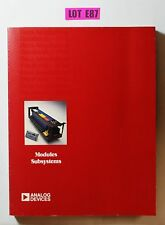 Analog Devices Modules Subsystems Data Book Catalog Guide 1984 Data Book Lot E87