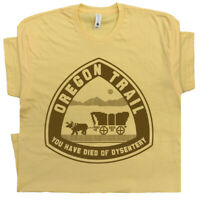 Oregon Trail T Shirt You Have Died of Dysentery Tee Retro Computer Vintage Gamer