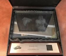 2003 Absolute Memorabilia Etched Glass Michael Vick Jersey /200