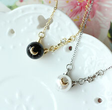 2 PCS Sailor Moon Chibi Usa Cosplay Chains Necklace Pendant Accessories