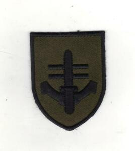SPECIAL BOAT SERVICE SPECIAL FORCES SBS  EMBROIDERED BERET BADGE - SUBDUED
