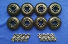 Outdoor Rollerblade Inline Hockey Fitness Skate Wheels 70mm 82A Bearings ABEC 7