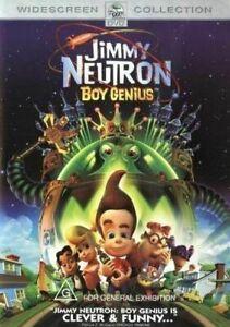 Jimmy Neutron DVD Boy Genius - SAME / NEXT DAY POST from SYDNEY