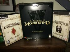 Morrowind Collector's Edition + Knights of the 9 + Shivering Isles
