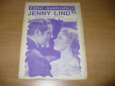 CINEMA CINE-ROMANZO N.235 1932 JENNY LIND OSKAR DAYES GRACE MOORE REGINALD DENNY