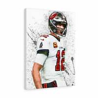 Tom Brady NFL Football Poster Print Photo Wall Art Limited Athlete Tampa Bay Buc