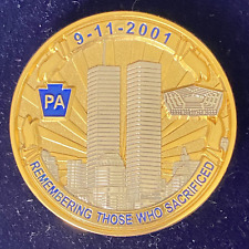 9-11 Commemorative Geocoin (Activated) Geocaching Trackable