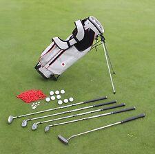 Damen Golfset Rechtshänder Komplettset Golfbag + 5 GolfSchläger + Bälle 017