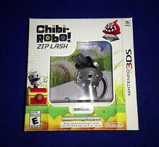 LOW PRICE! NEW Chibi Robo Zip Lash With Amiibo Bundle Nintendo 3DS 2DS 3DS XL