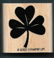 Surly St Patrick/'s Day Shamrock Rubber Stamp G20403 WM lucky irish clover