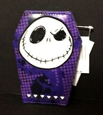 Disney Nightmare Before Christmas Jack New Id Card Holder Wallet Purple