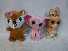 Ty Ellie Beanie Boos Elephant Carrots MTY Glitter Bow Plush Soft Toy Stuffed