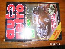 / Auto moto Retro n°16 Boinet Citroen 15/6 Fiat 124 Spider Woodies Chardonnet
