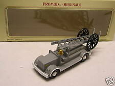 Promod: BUDGIE TOYS Leyland Open Cab 1920 Fire Escape National Fire Service